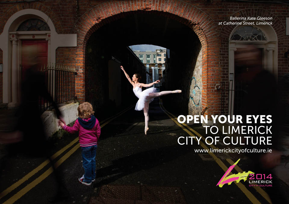 Limerick, National City of Culture 2014 .Pic Sean Curtin Photo.