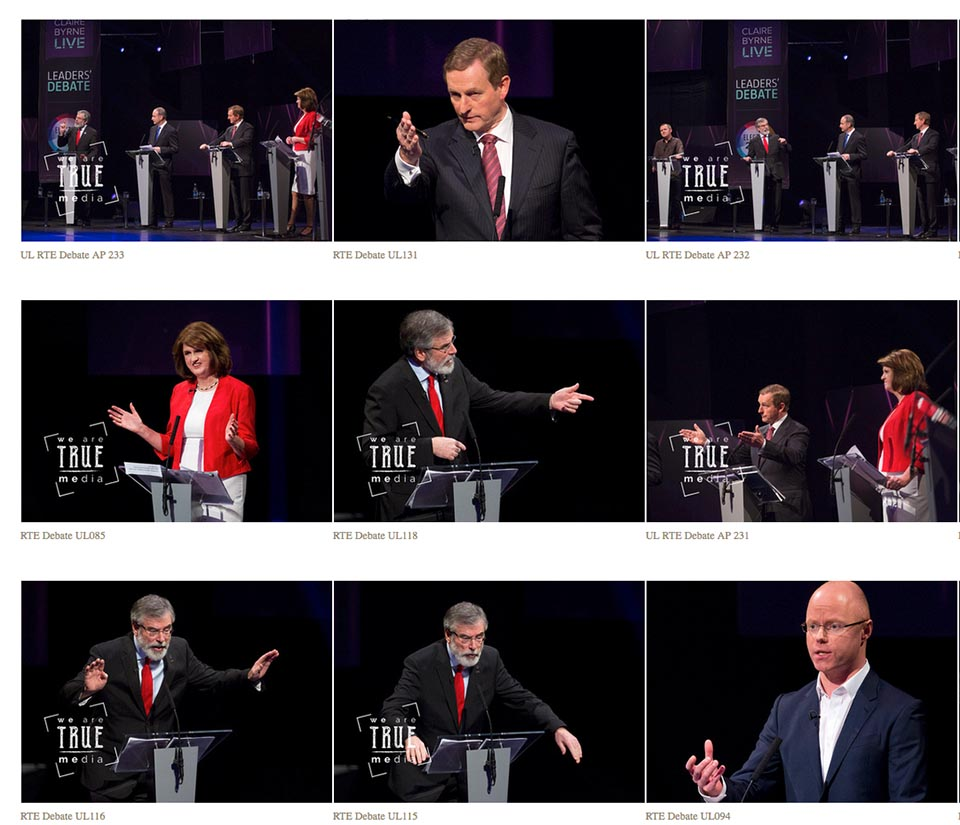 RTE Leaders Debate UL